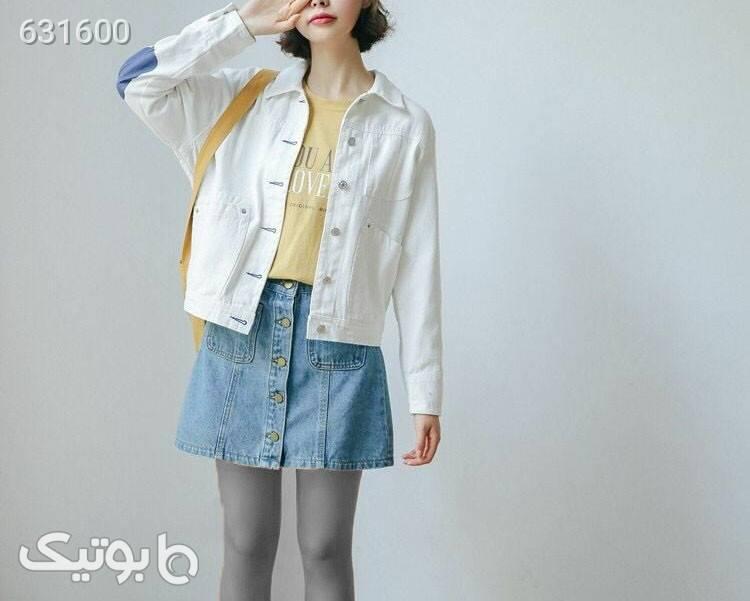 کت دخترانه  سفید پلیور و ژاکت زنانه