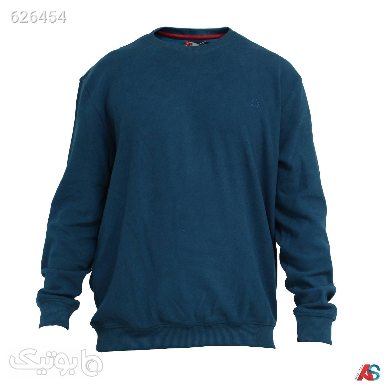 پلیور سایز بزرگ کد محصولbab42 آبی پليور و ژاکت مردانه