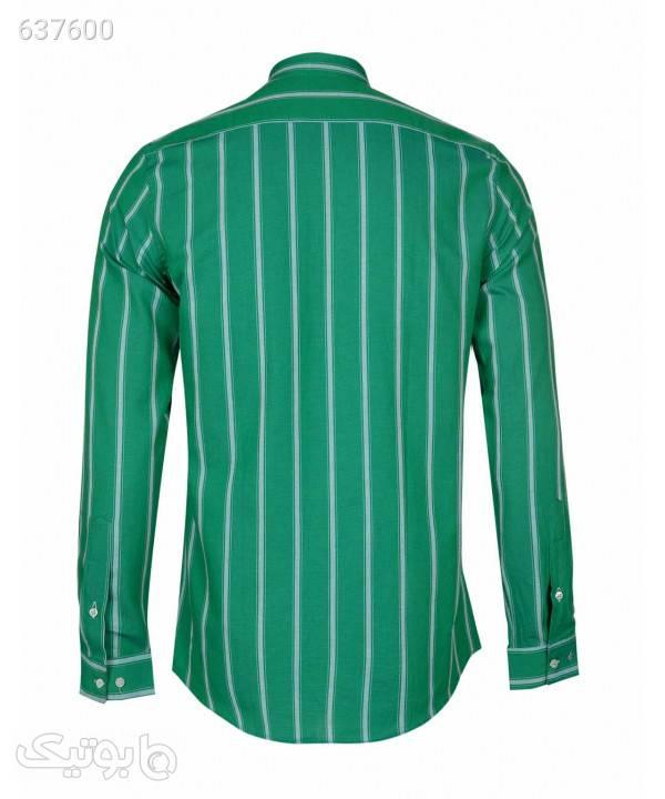 پیراهن مردانه راهراه ال آر سی LRC کد 165114 سبز پيراهن مردانه