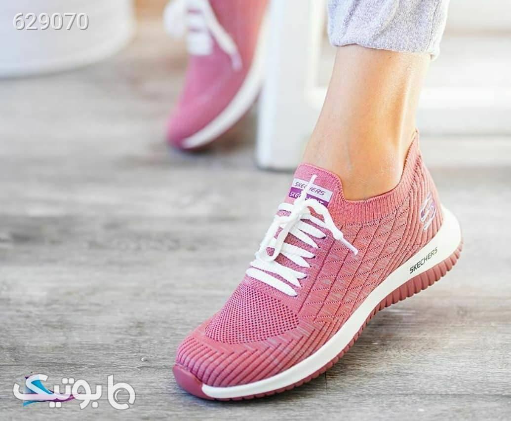 کفش زنانه پیاده روی اسپرت مشکی كتانی زنانه
