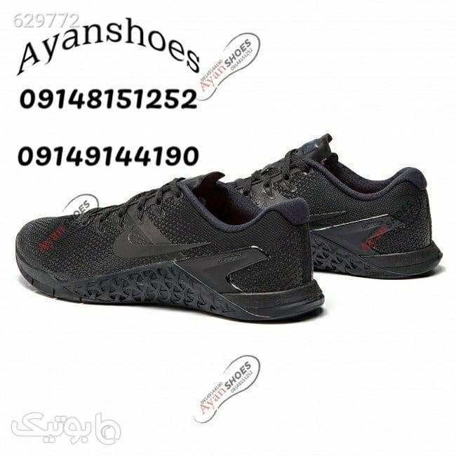کفش اورجینال مشکی كتانی مردانه