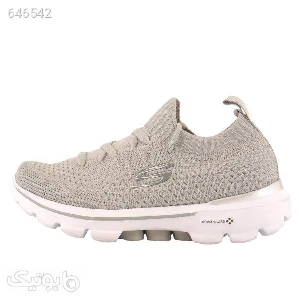 کفش مخصوص پیاده روی  مردانه مدل gowalk7 کرم كتانی مردانه