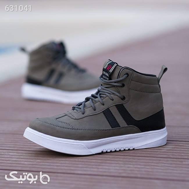 کفش ساقدار مردانه Sheniz (سبز) طوسی كفش مردانه