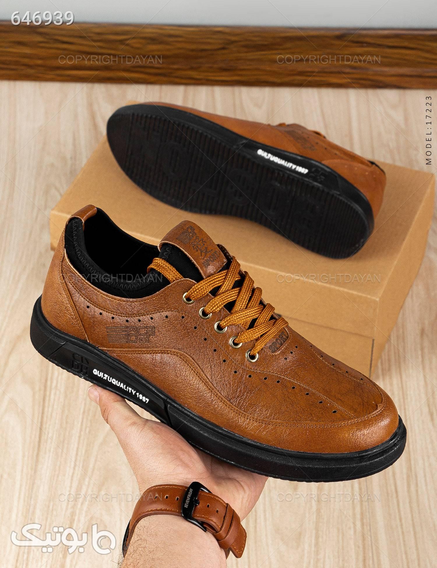کفش مجلسی مدل C7223 مشکی كفش مردانه