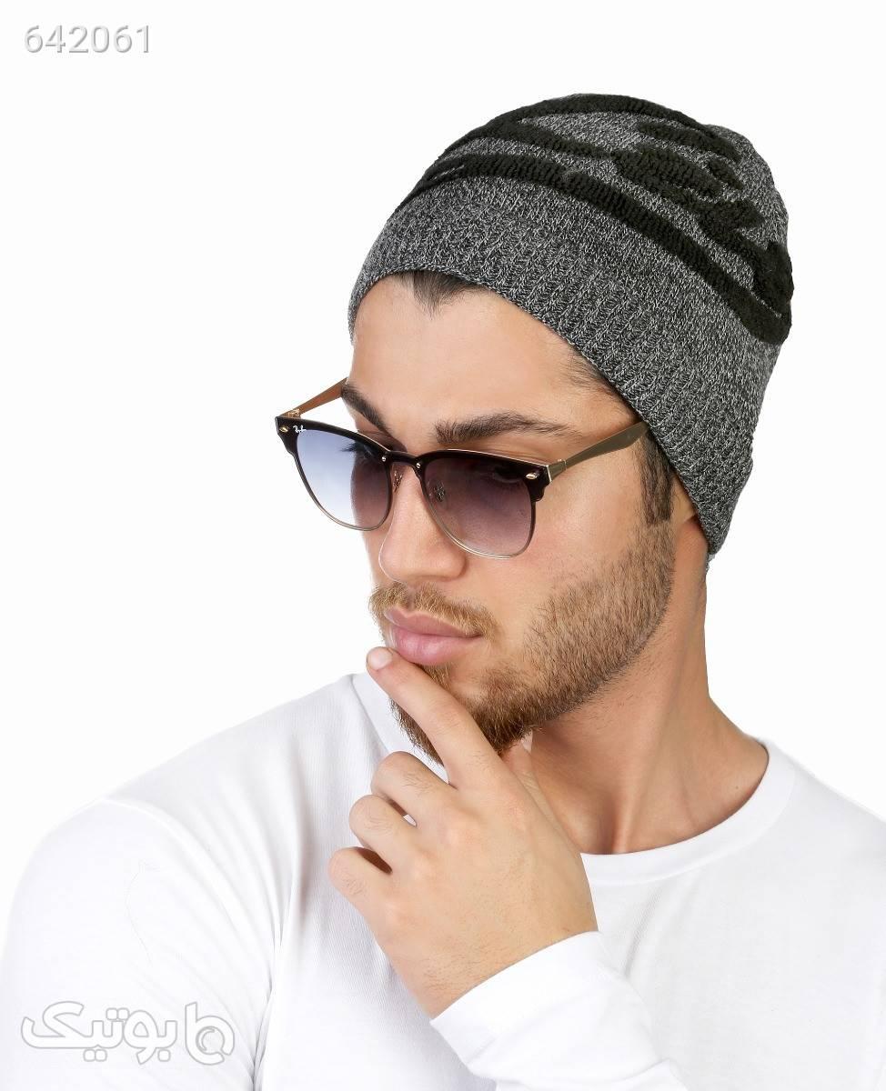 کلاه بافت مردانه Fonem مدل 10906طوسی طوسی کلاه بافت و شال گردن و دستکش