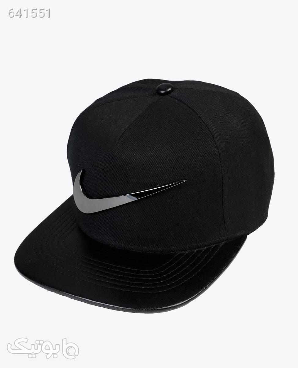 کلاه کپ نایکی مدل 6472مشکی کلاه بافت و شال گردن و دستکش