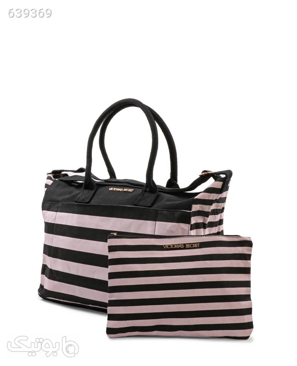 کیف دوشی زنانه Victoria's Secret مدل 46761 مشکی كيف زنانه