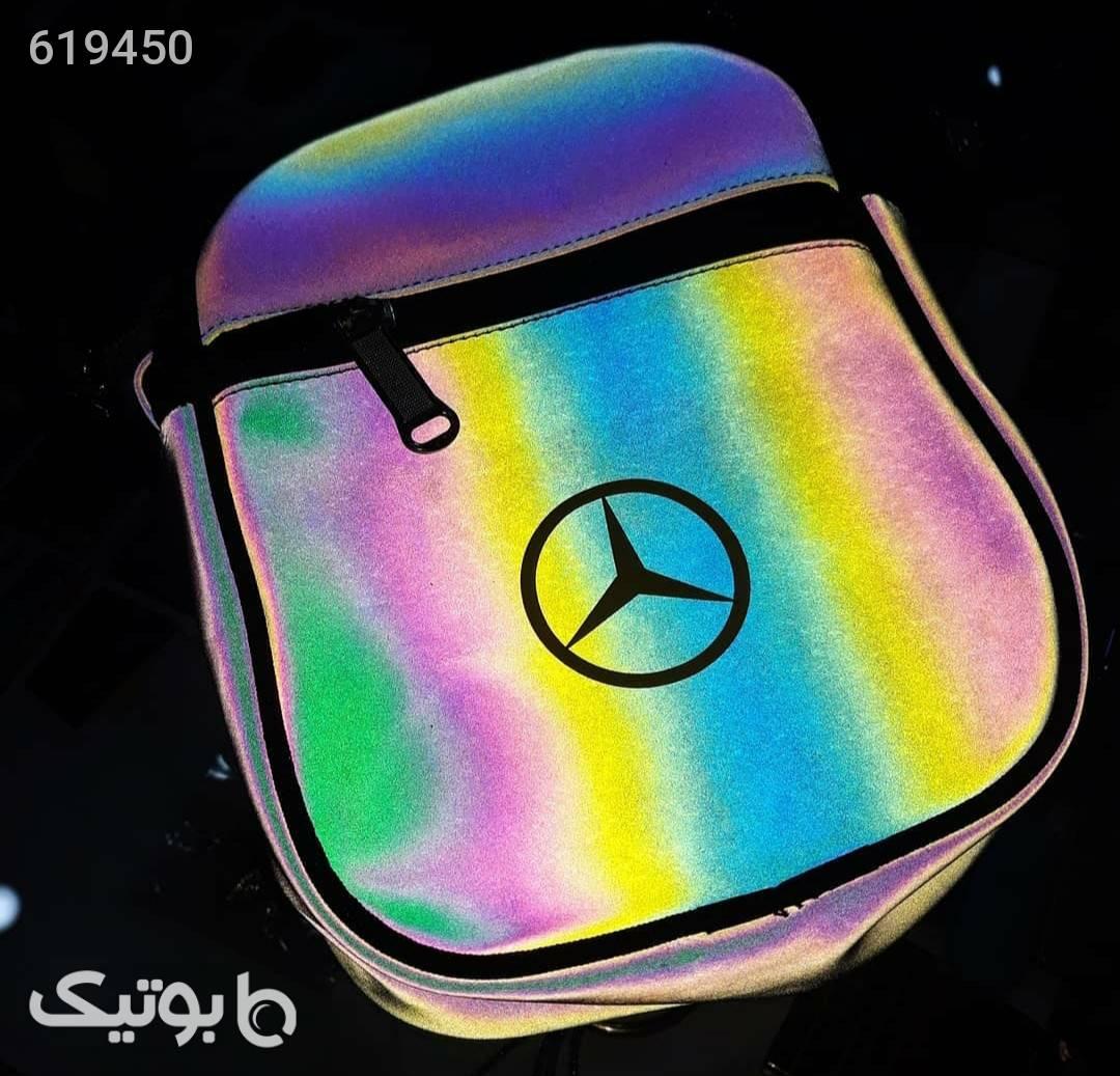 کیف دوشی شاین نقره ای كيف مردانه