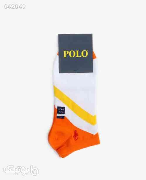 جوراب ساق کوتاه polo مدل 9382نارنجی نارنجی 99 2020