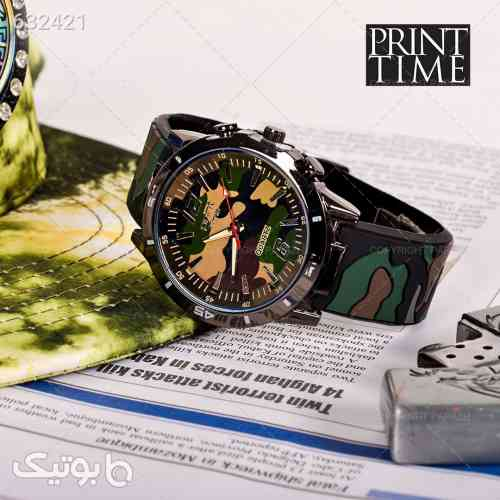 ساعت مچی مردانه Print time مدل 1232 مشکی 99 2020