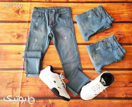 شلوار جین مردانه نقره ای 99 2020