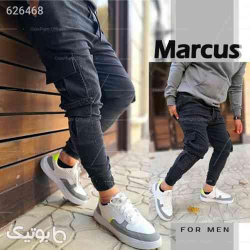 شلوار جین 7 جیب مردانه مدل Marcus  طوسی 99 2020