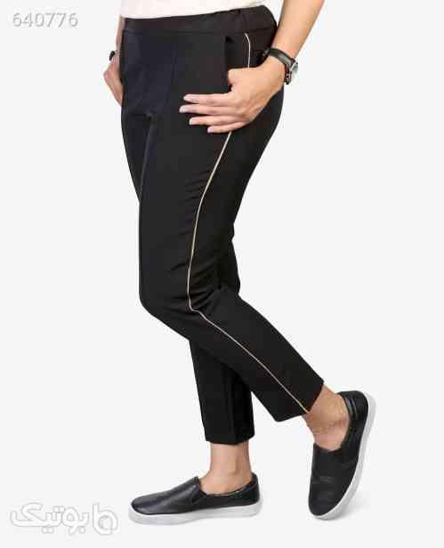 شلوار کرپ زنانه مدل 0516 مشکی 99 2020