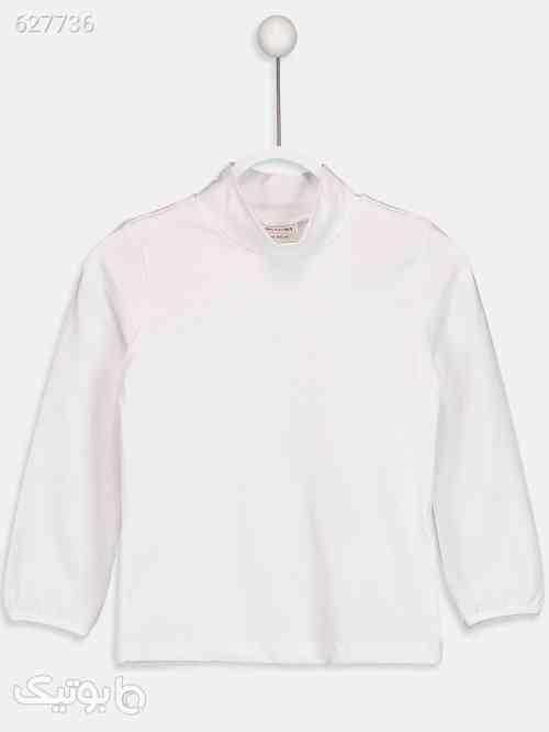 تی شرت دخترانه ال سی وایکیکی سفید 99 2020