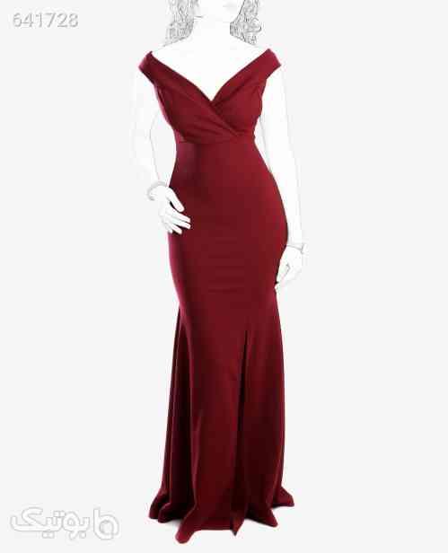 لباس مجلسی بلند زنانه Fashion مدل 7290زرشکیتک سایز زرشکی 99 2020