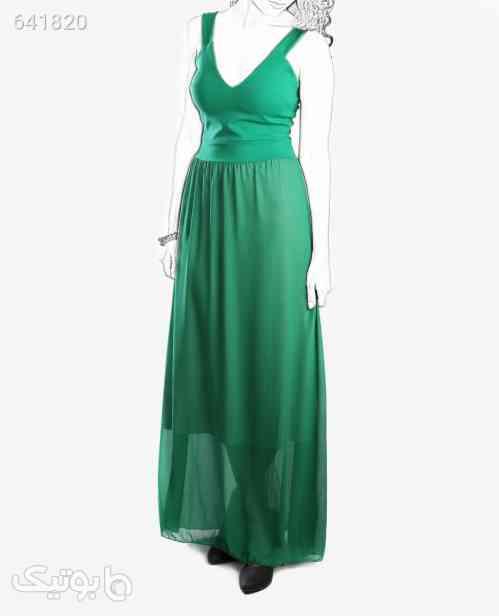 لباس مجلسی بلند زنانه Fashion مدل 7323سبزتک سایز 99 2020