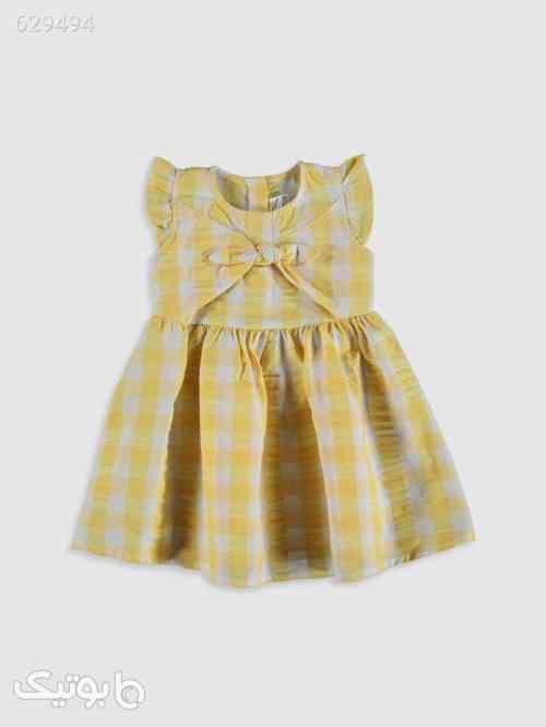 سارافون نوزادی دخترانه زرد 99 2020
