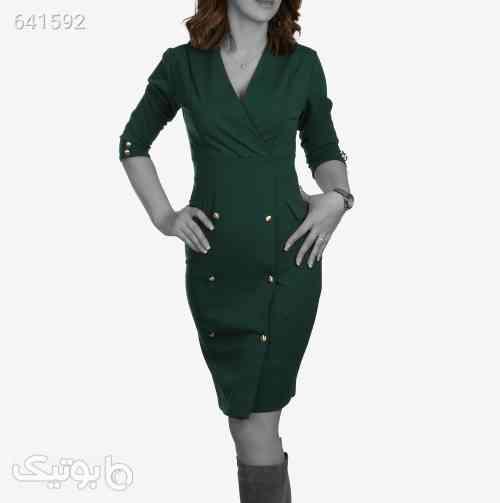 پیراهن مجلسی زنانه New Collection مدل 7145سبزتک سایز 99 2020