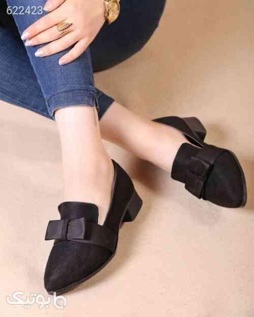 کفش تخت زنانه مشکی 99 2020