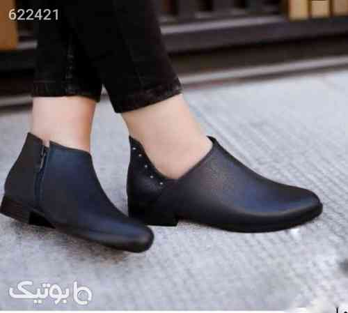 کفش زنانه چرم جدید مشکی 99 2020