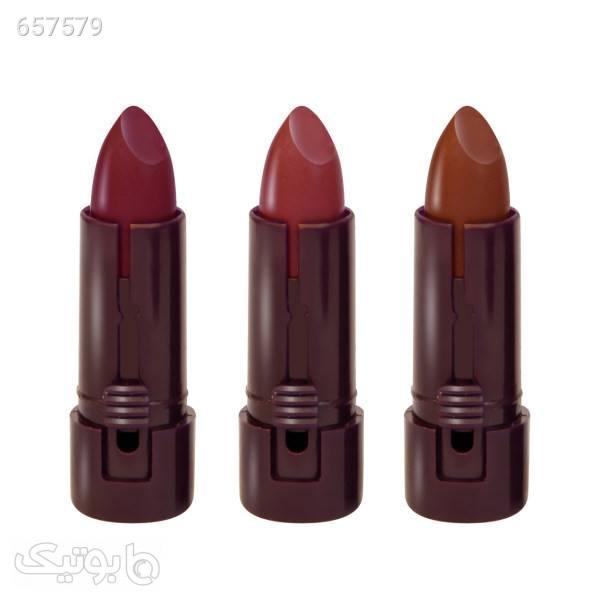 رژ لب جامد مرو مدل MiniT1 مجموعه 3 عددی  مشکی آرایش لب