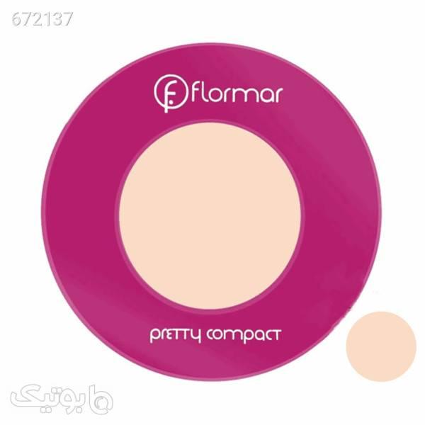 پنکک ساده فلورمار مدل پرتی شماره 198 کرم آرایش پوست