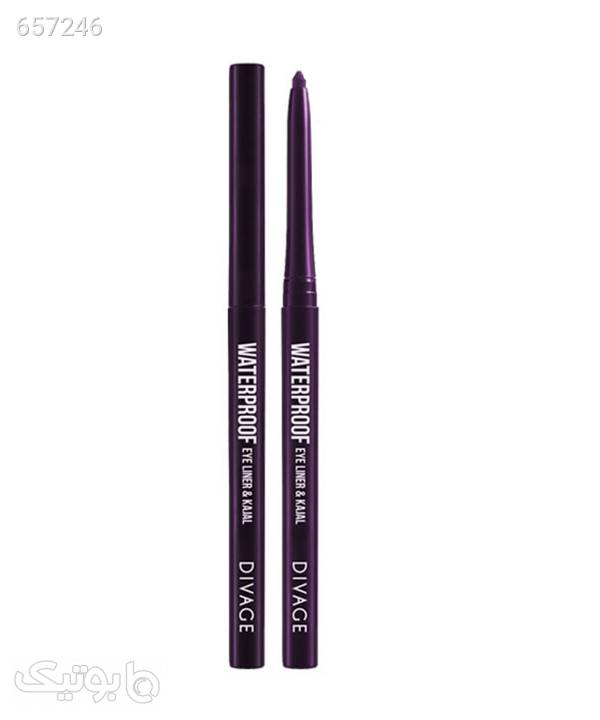مداد چشم ضد آب دیواژ Divage مدل Waterproof eye liner & Kajal آرایش چشم