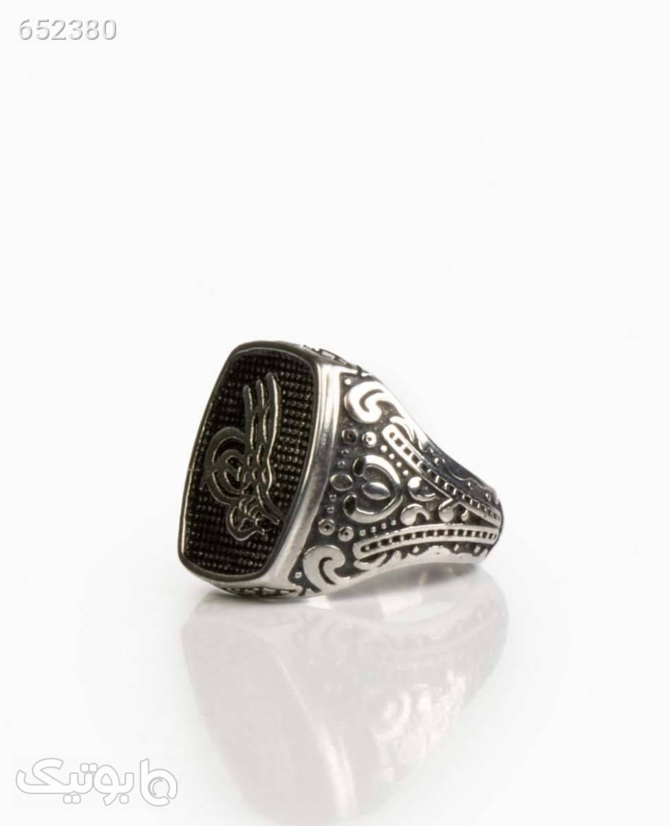انگشتر مردانه کد 3153Silver9 نقره ای انگشتر