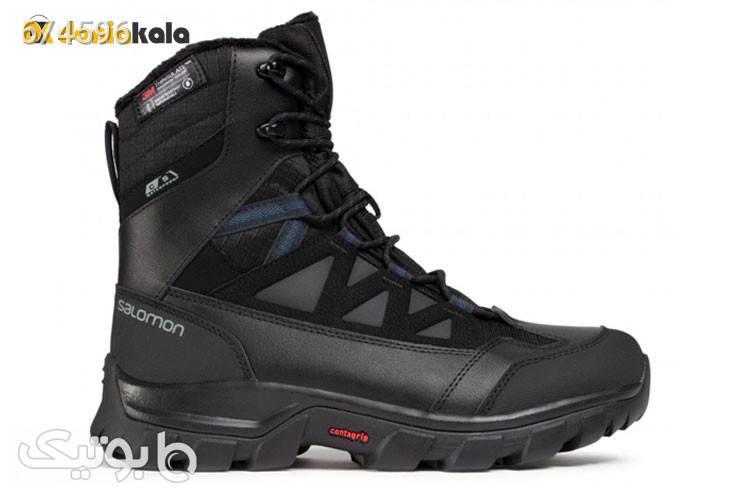 کفش و پوتین کوهنوردی مردانه سالامونSALOMON CHALTEN TS CSWP 409225 مشکی بوت مردانه