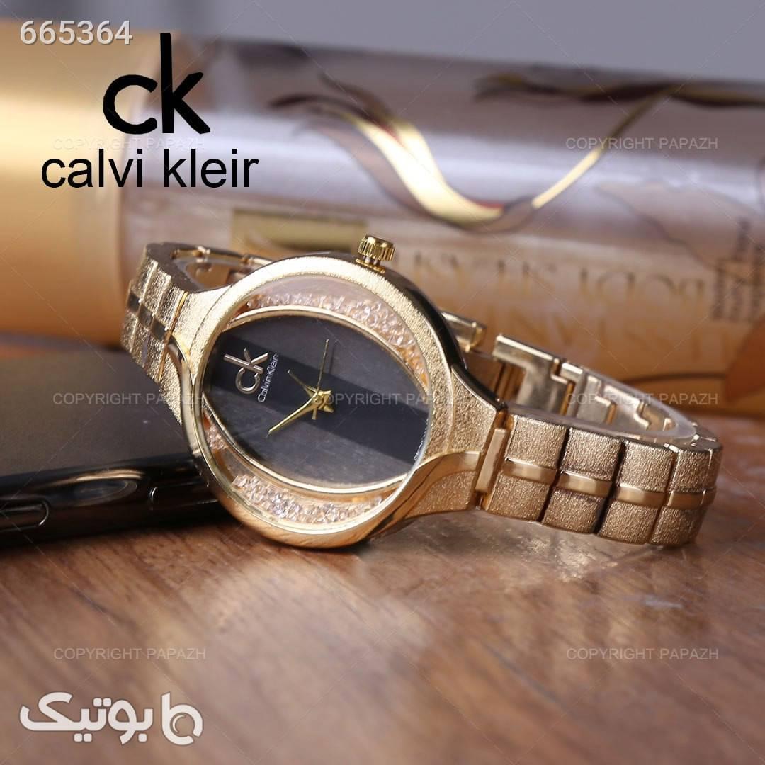 ساعت مچی زنانه CALVIN KLEIN مدل 1270 طلایی ساعت