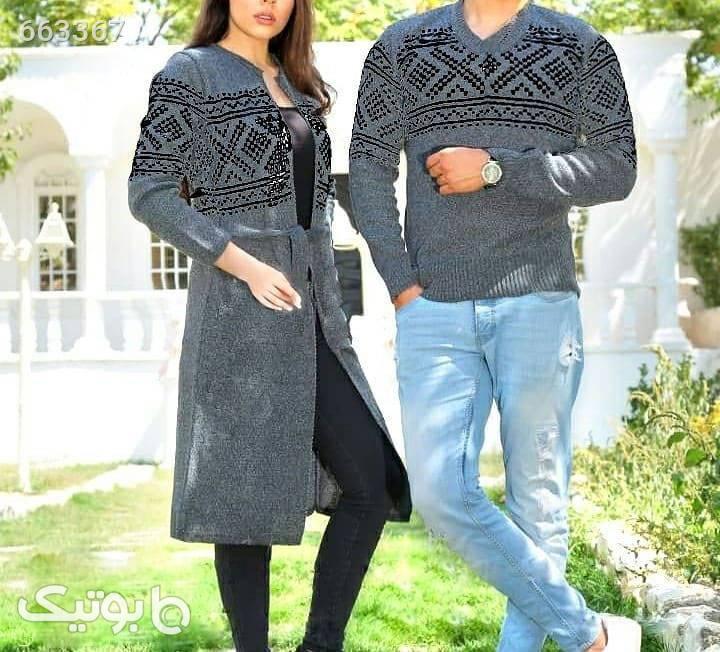 ست بافت سنتی  سورمه ای ست زوج و خانواده