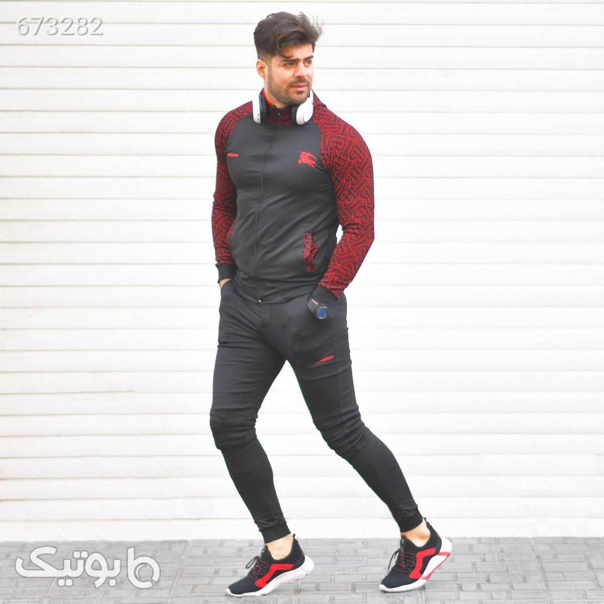 ست سوئيشرت شلوارمردانه مدل BARMAK مشکی ست ورزشی مردانه