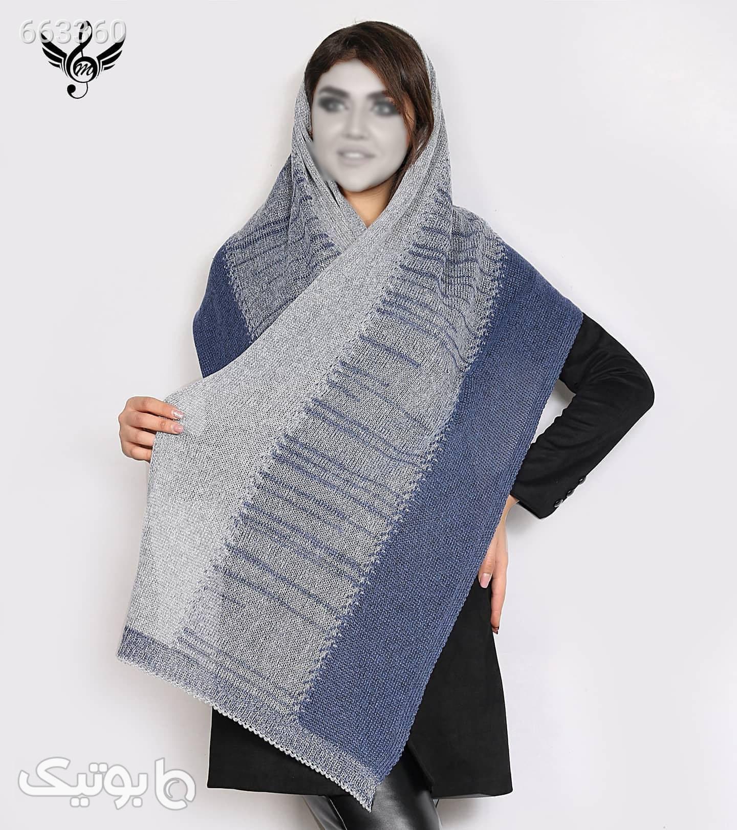 شال بافت  زرشکی شال و روسری