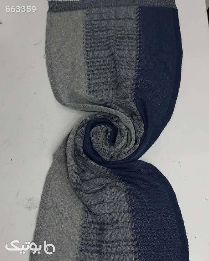 شال بافت سورمه ای شال و روسری