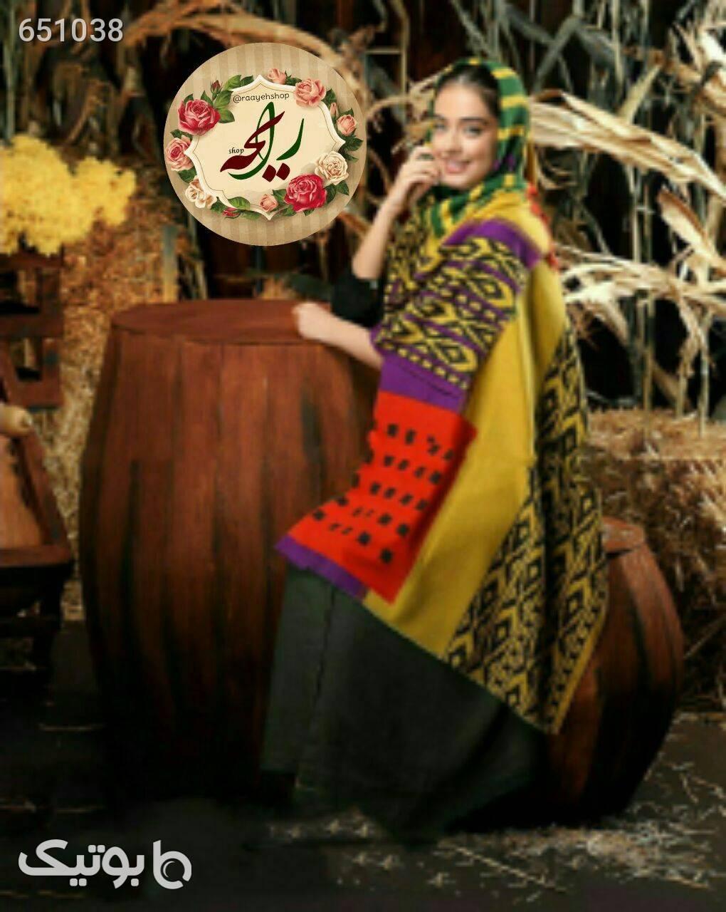 شال موهر قهوه ای شال و روسری