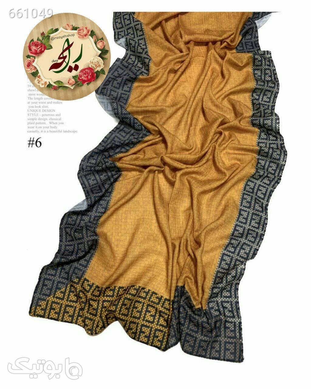 شال پاییزه قهوه ای شال و روسری