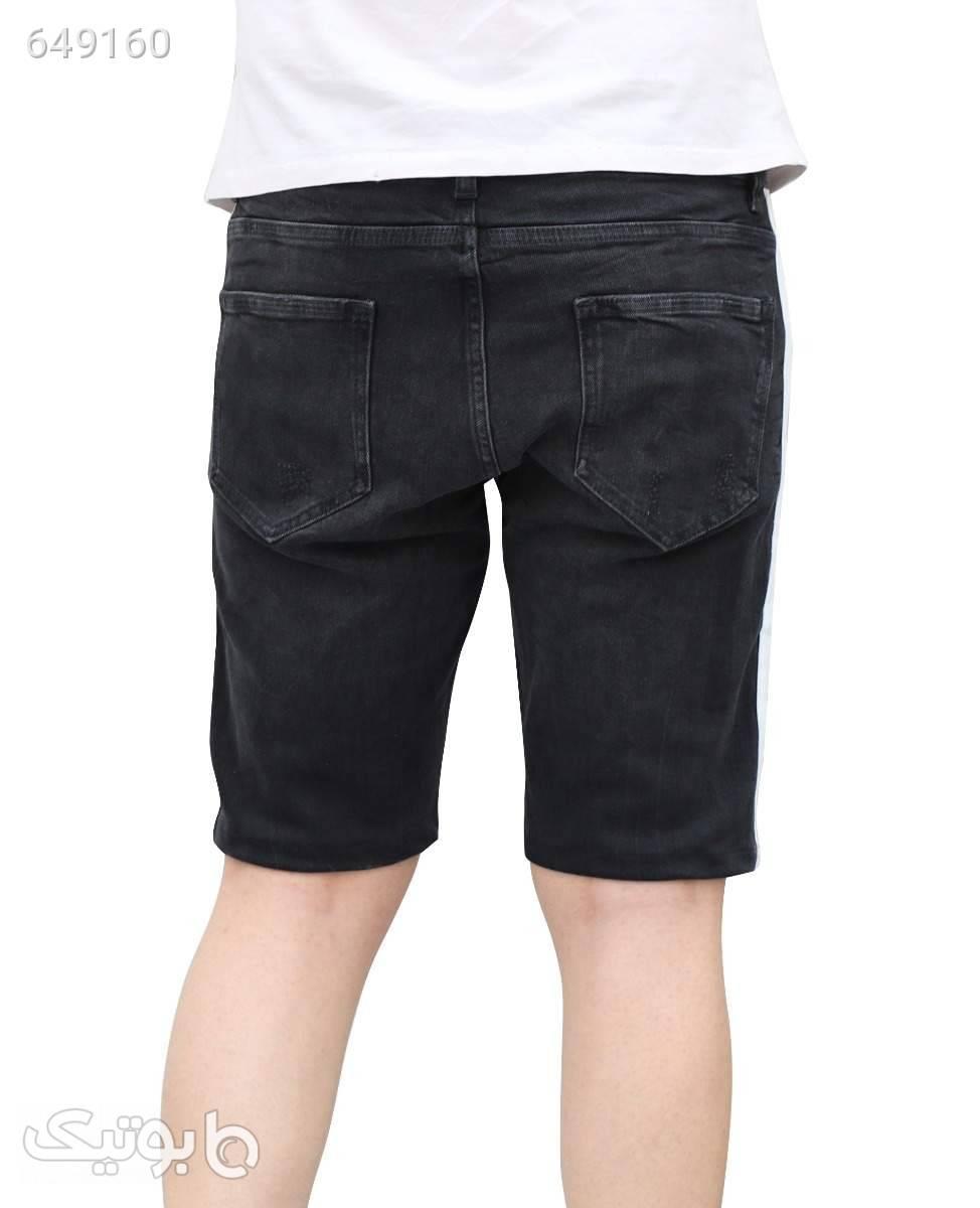 شلوارک جین مردانه 2Y Premium کد 1059Black40 مشکی شلوارک مردانه
