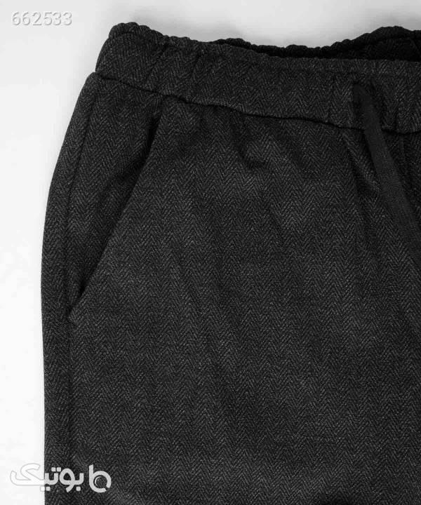شلوار اسلش مردانه جین وست Jeanswest مدل 94151707 مشکی شلوار اسلش مردانه