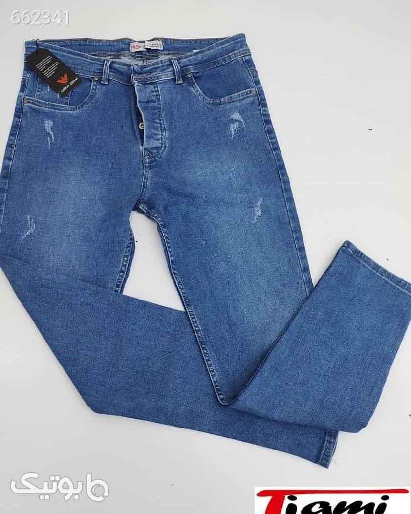 شلوار لی جین آبی  آبی شلوار جین زنانه