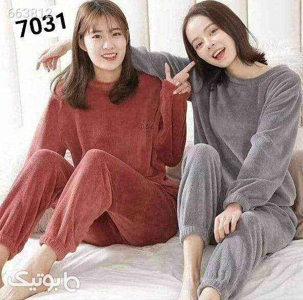 دو تیکه شیک طوسی لباس راحتی زنانه