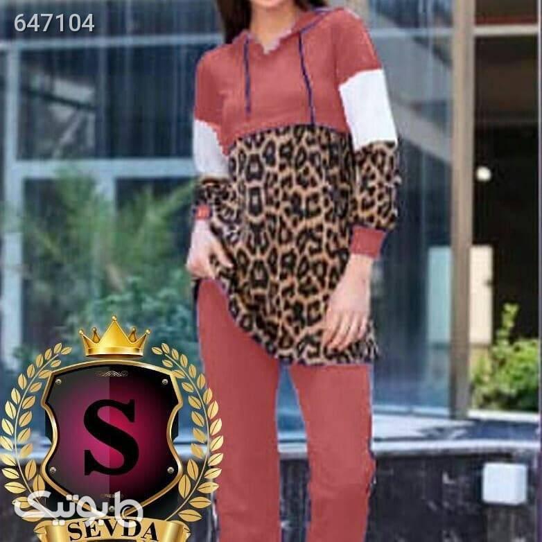 هودی شلوار زنانه  لباس راحتی زنانه