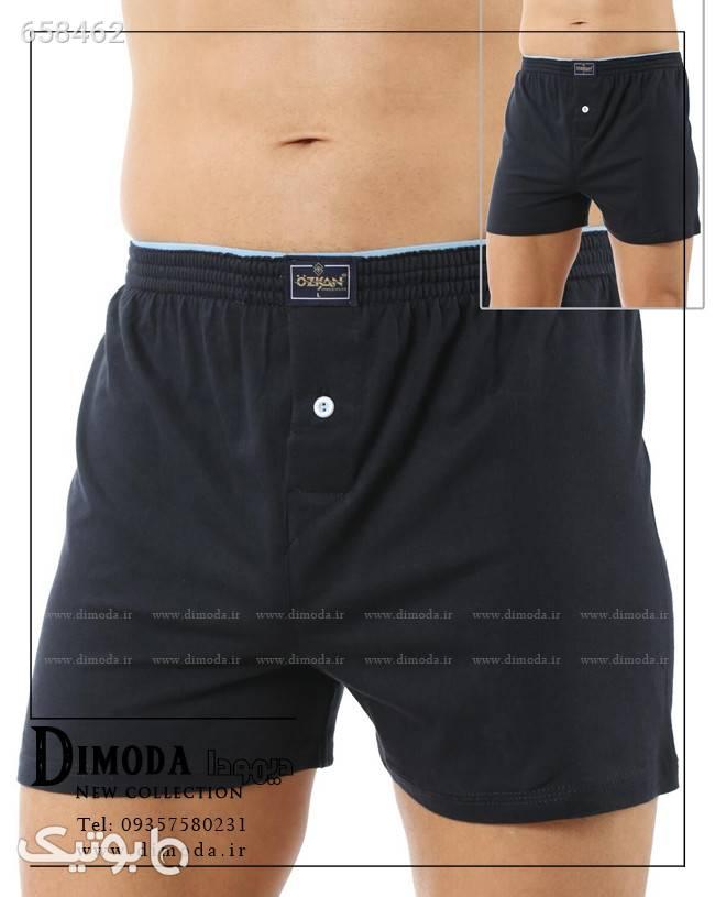 شورت مردانه ترک ozkan 0041 مشکی لباس زیر مردانه