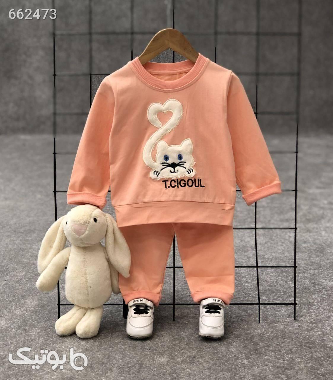 ست بلوز شلوارارسال رایگان زرد لباس کودک دخترانه