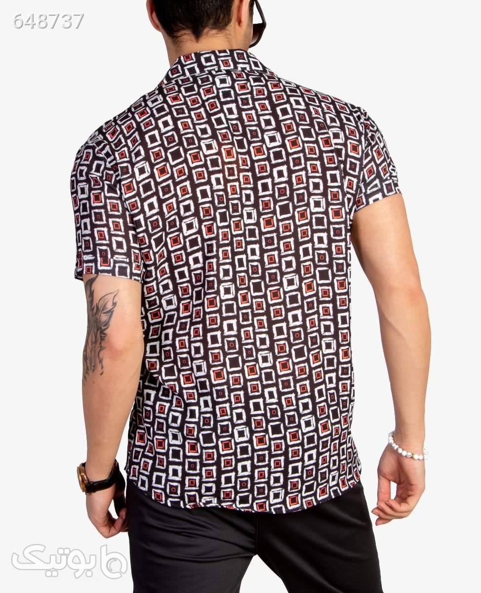 پیراهن طرح هاوایی مردانه Catch کد 8631BlackS مشکی پيراهن مردانه