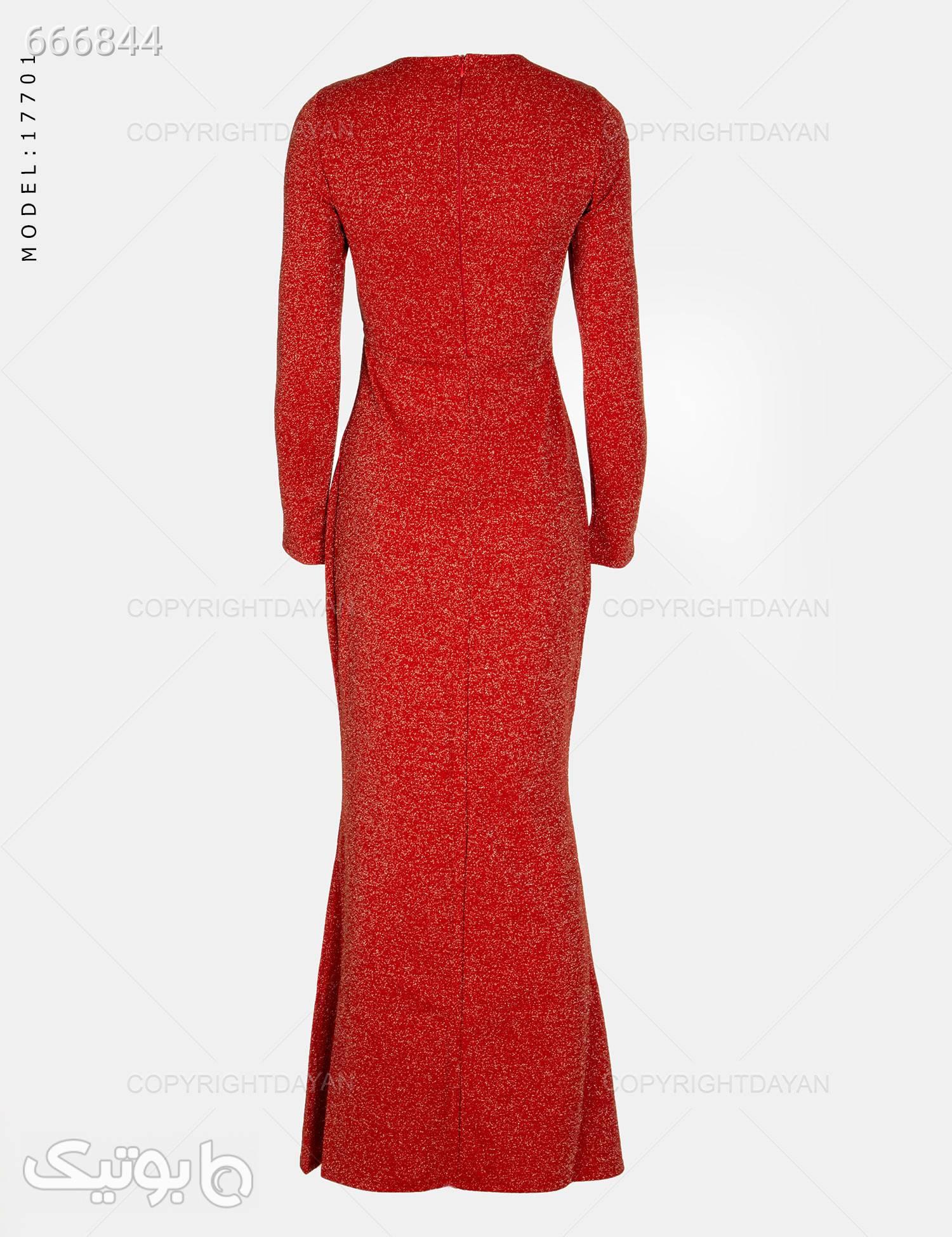 پیراهن زنانه Elsa مدل 17701 قرمز پيراهن و سارافون زنانه
