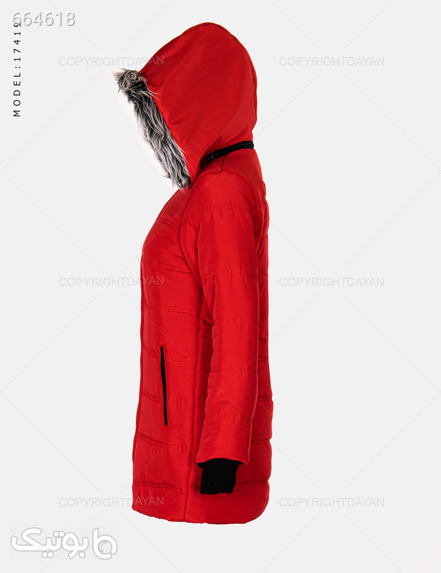 کاپشن زنانه Marta مدل 17419 قرمز کاپشن و بارانی زنانه