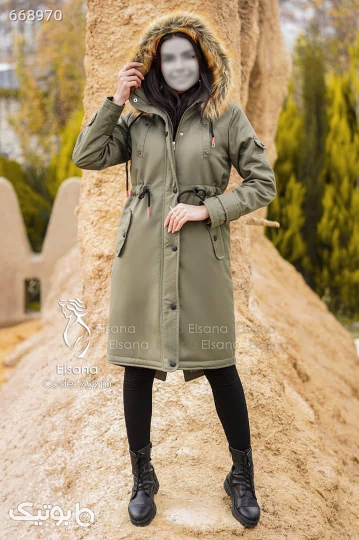کاپشن مدل چشمه  طوسی کاپشن و بارانی زنانه