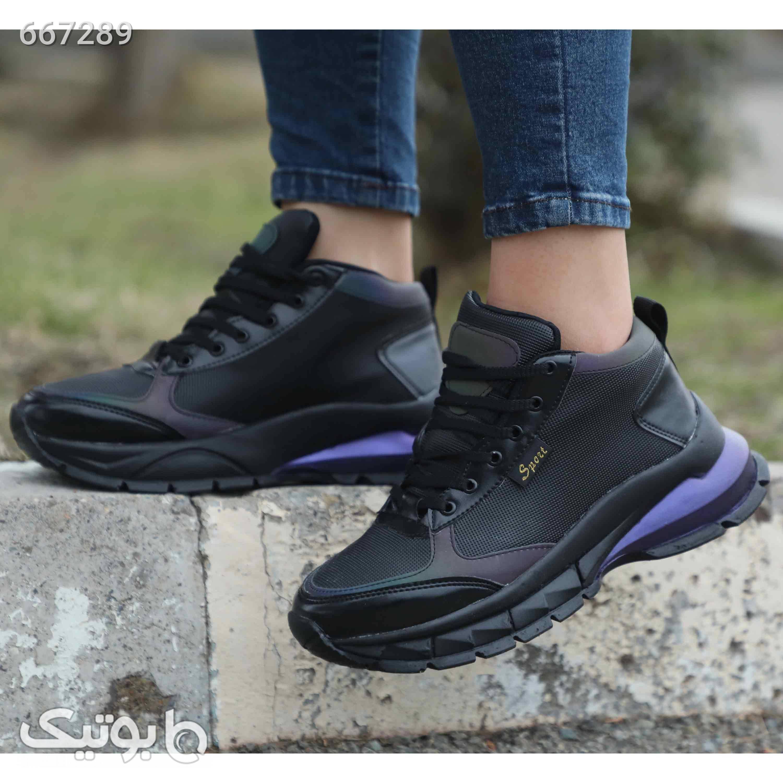 کفش اسپورت دخترانه ارزان مشکی كتانی زنانه