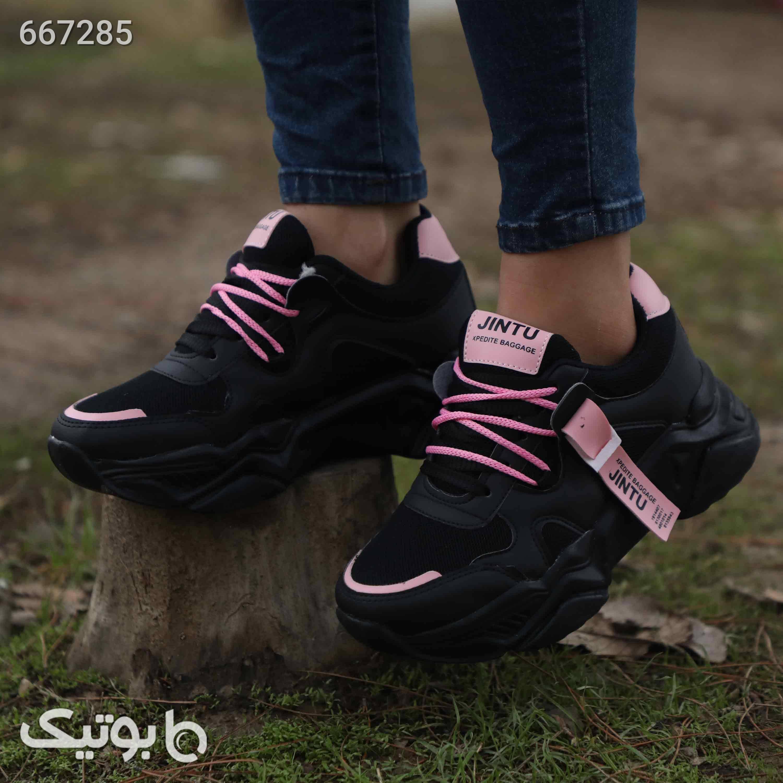کفش کتونی دخترانه مشکی كتانی زنانه