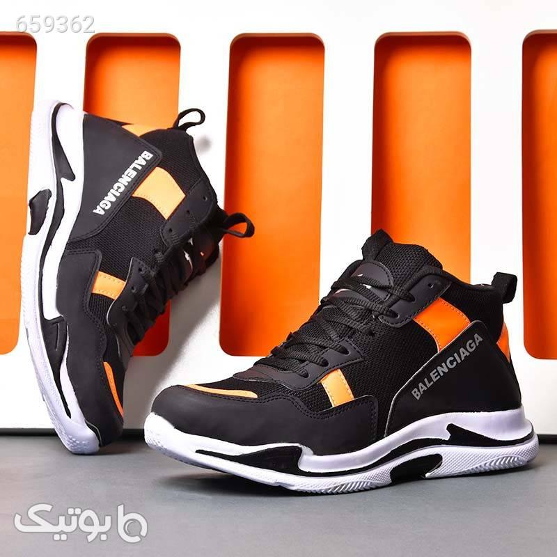 کفش ساقدار مردانه بالنسیاگا Rizan مشکی كفش مردانه